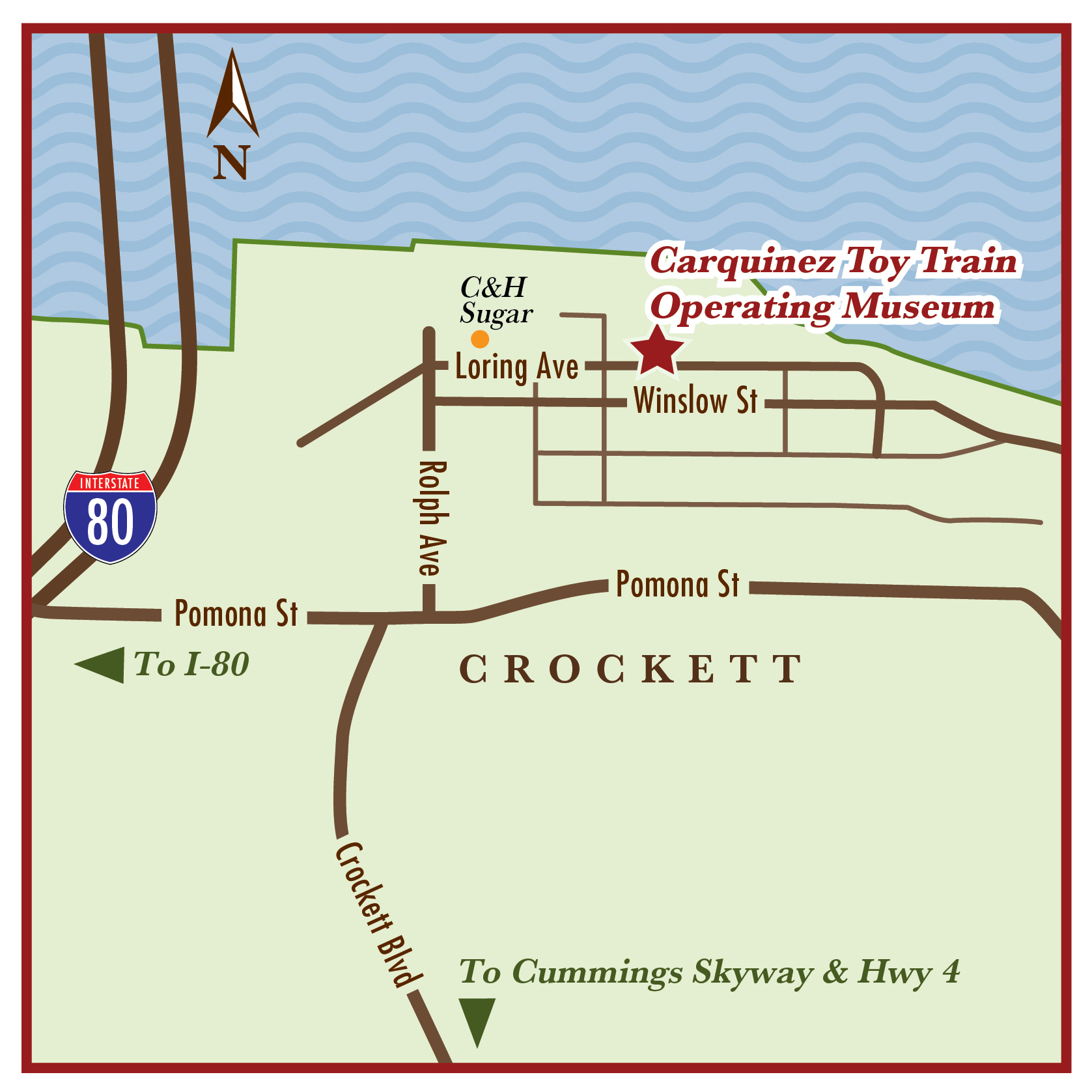 cttom map